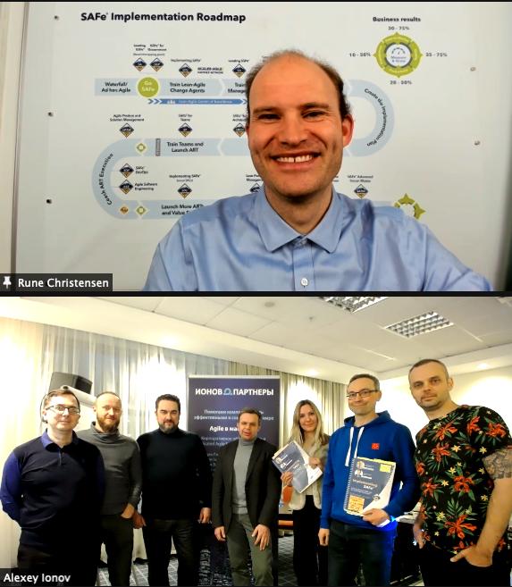 Участники первого в России курса Implementing SAFe